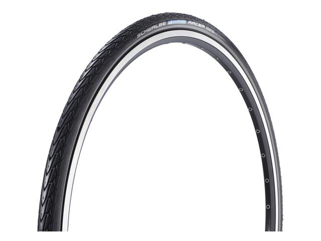 """SCHWALBE Marathon Racer - Pneu vélo - Performance 28"""" Lite rigide Reflex noir"""
